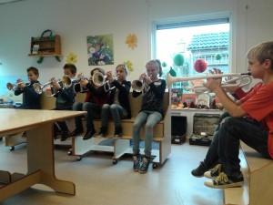 foto school trompetten